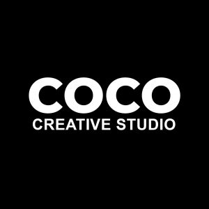 coco creative black logo