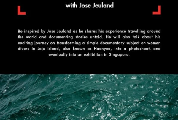 Cathay Photo Manfrotto photography talk Jose jeuland Singapore