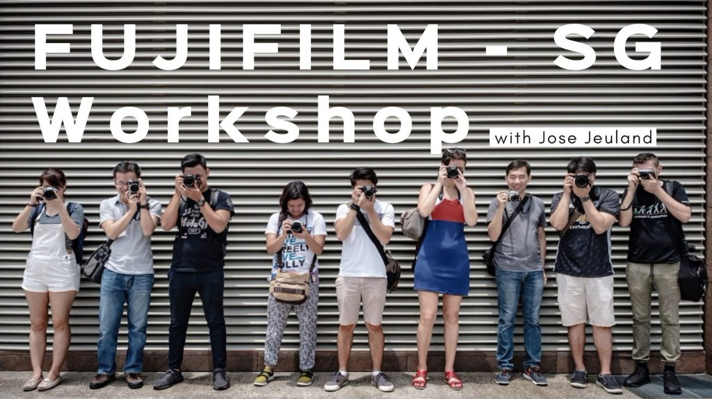 Photography Workshop – FUJIFILM Singapore