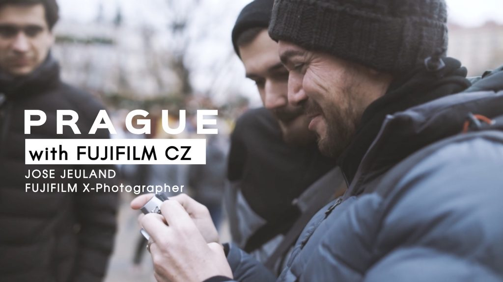 VIDEO: Jose Jeuland – FUJIFILM World's X-Photographer in PRAGUE, CZ.