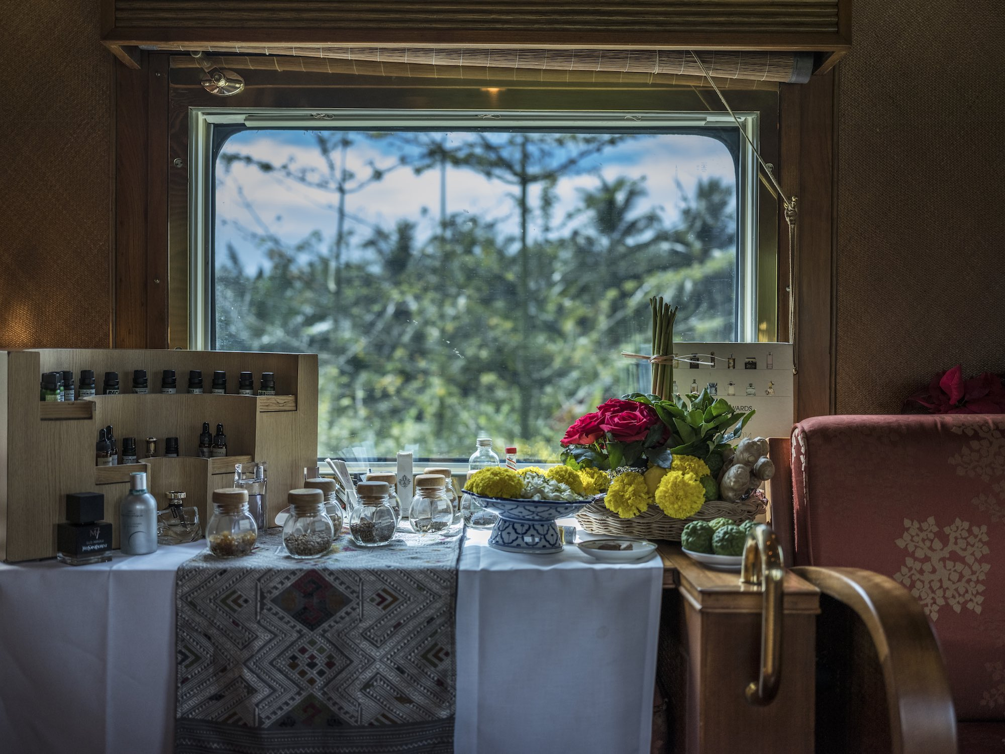 Hospitality restaurant bar hotel Photography services singapore commercial - Belmond Eastern Oriental Express train