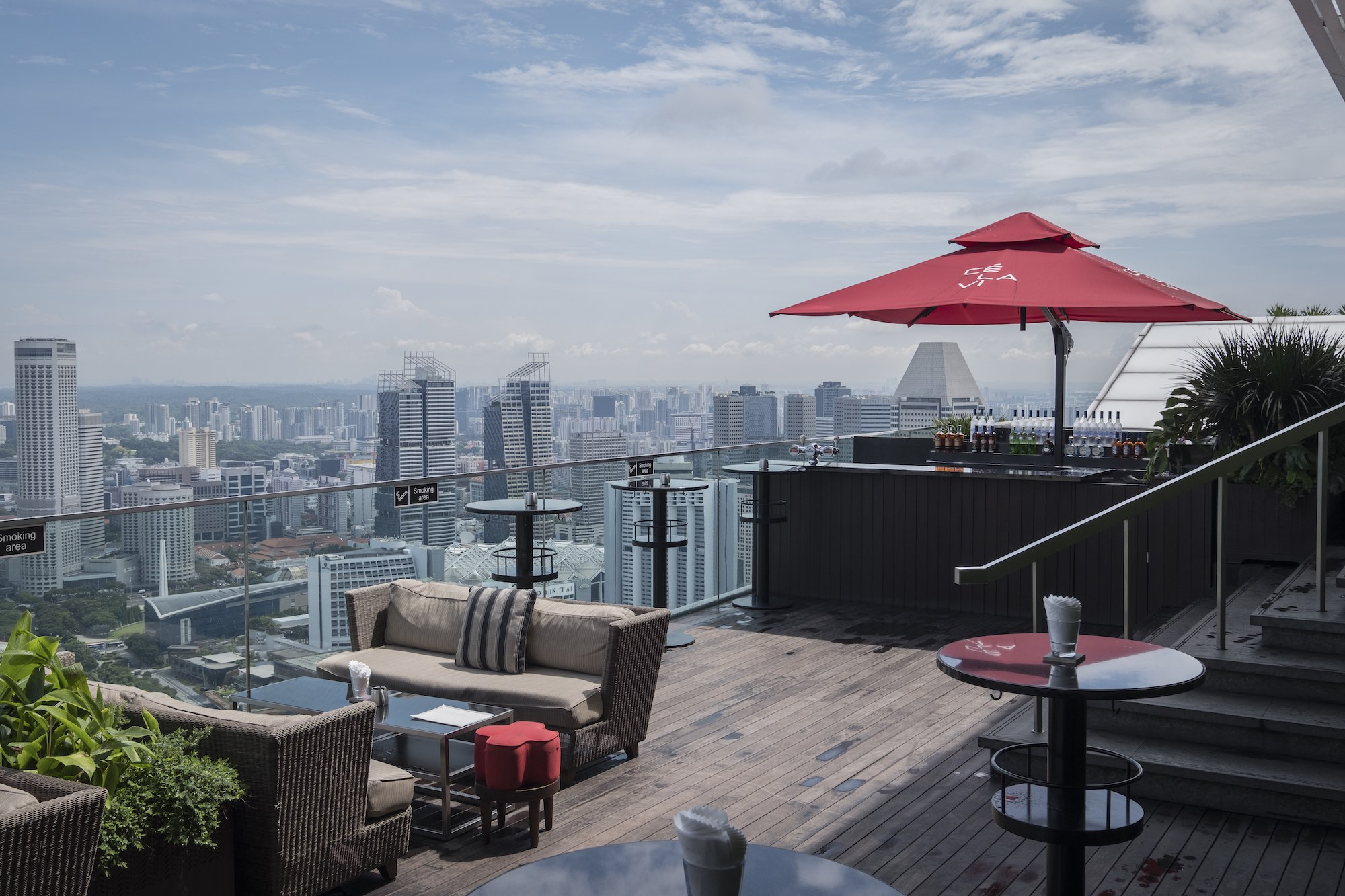 CE LA VI SG roof top Hospitality restaurant bar hotel Photography services singapore commercial