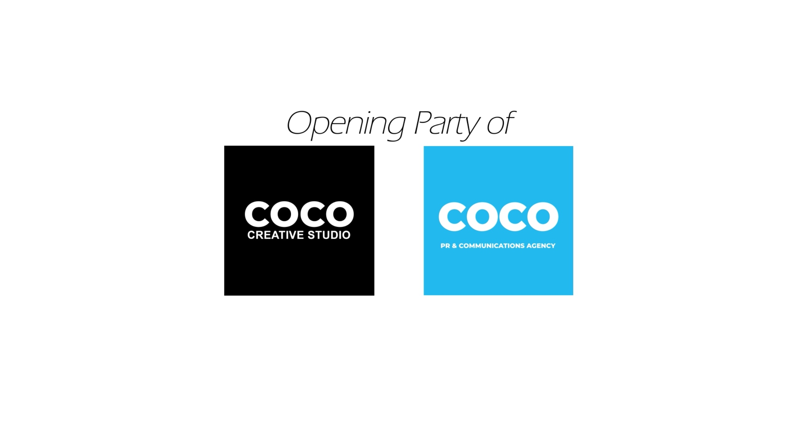 COCO PR & COMMUNICATIONS AGENCY COCO CREATIVE STUDIO OPENING PARTY SINGAPORE