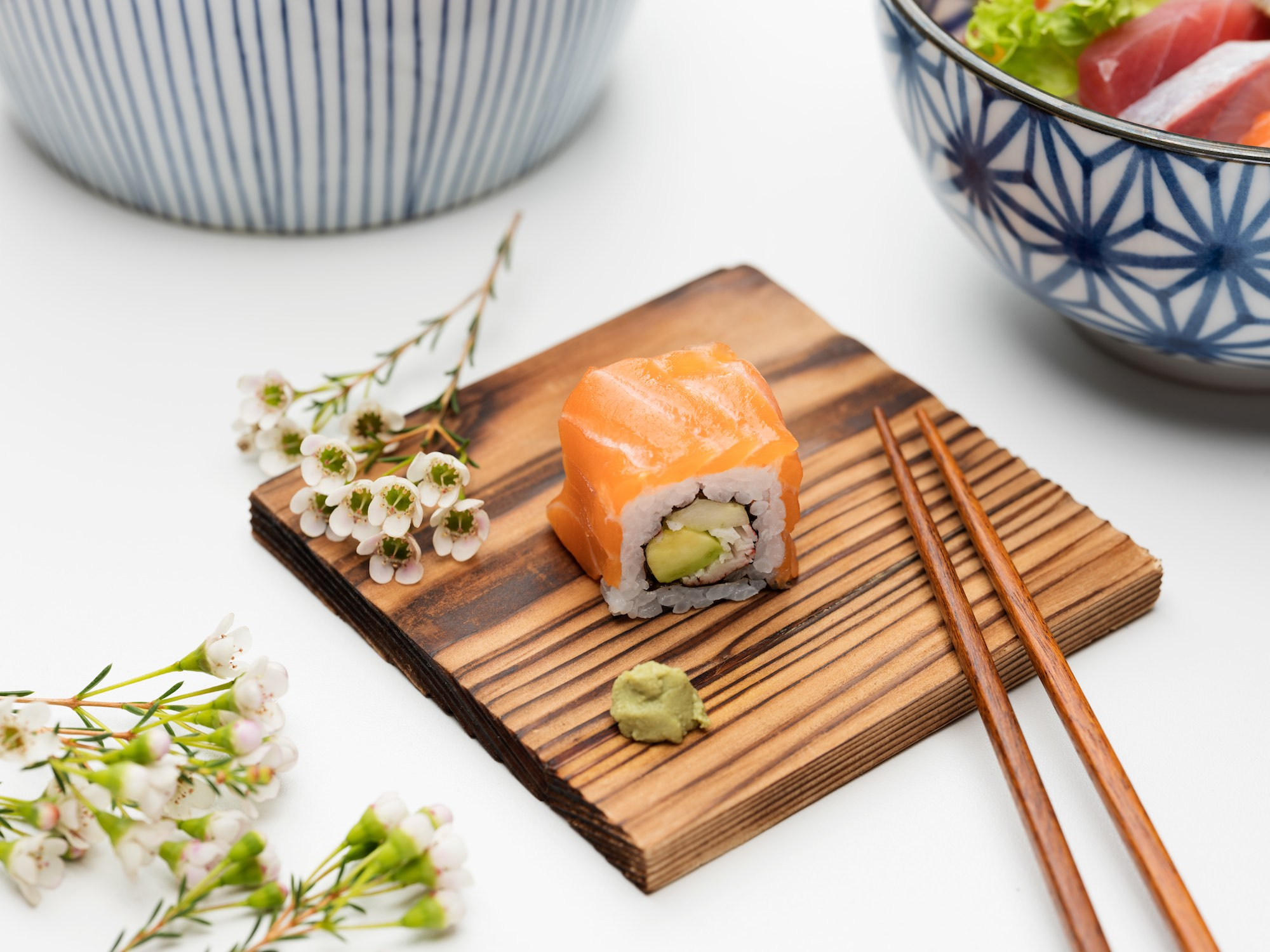 Food Beverage F&B photography services singapore sushi roll Japanese