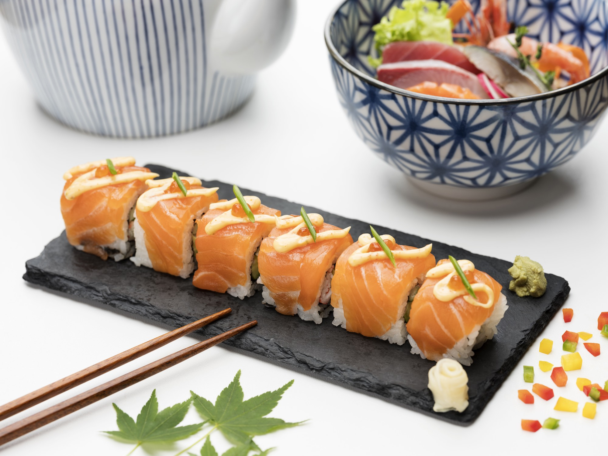 Food Beverage F&B photography services singapore roll sushi Japan