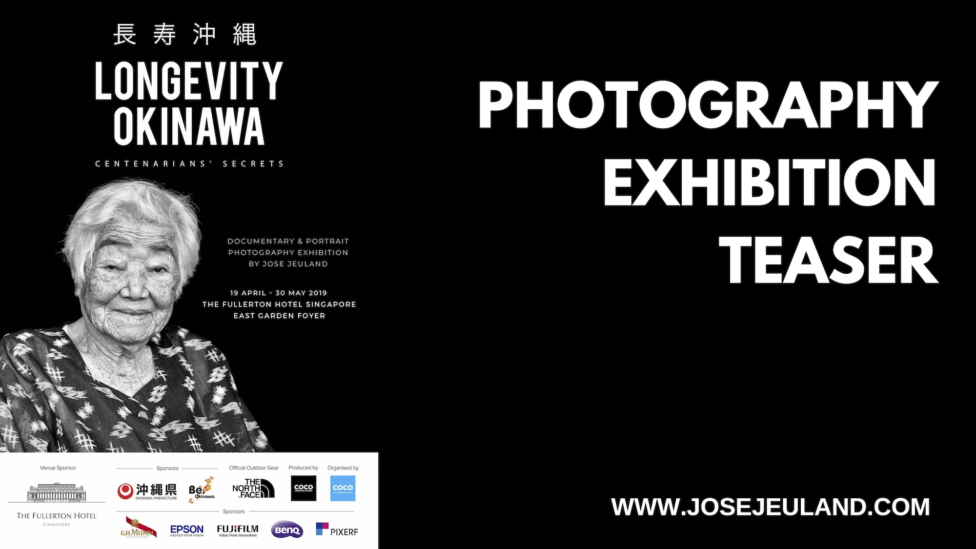 Longevity Okinawa Photography Exhibition Jose Jeuland Video Teaser youtube