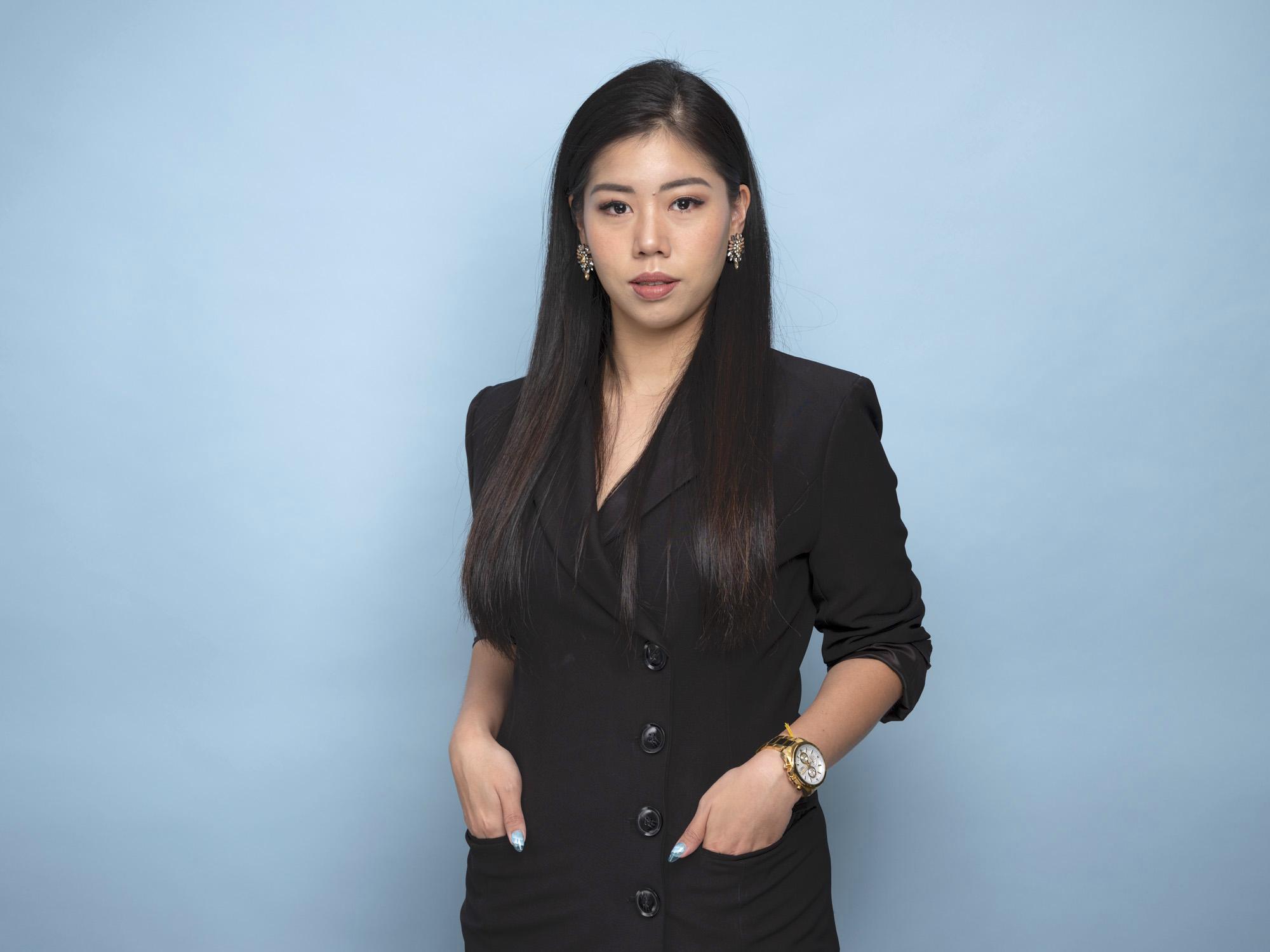 Corporate headshot portrait linkedin photography studio singapore services asia photographer coco pr agency