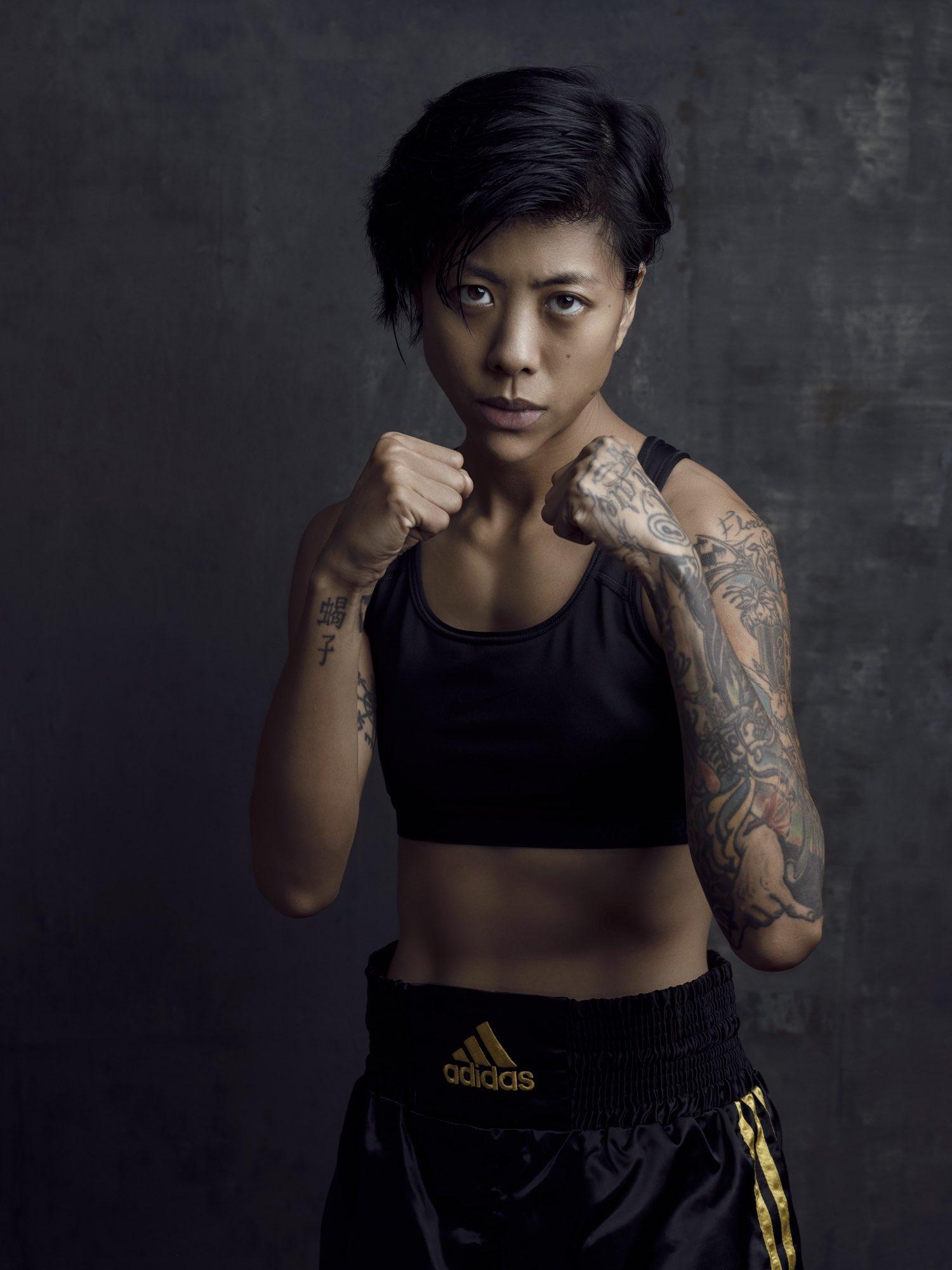 Fashion photography studio singapore services asia photographer photoshoot model woman boxing portrait boxe adidas