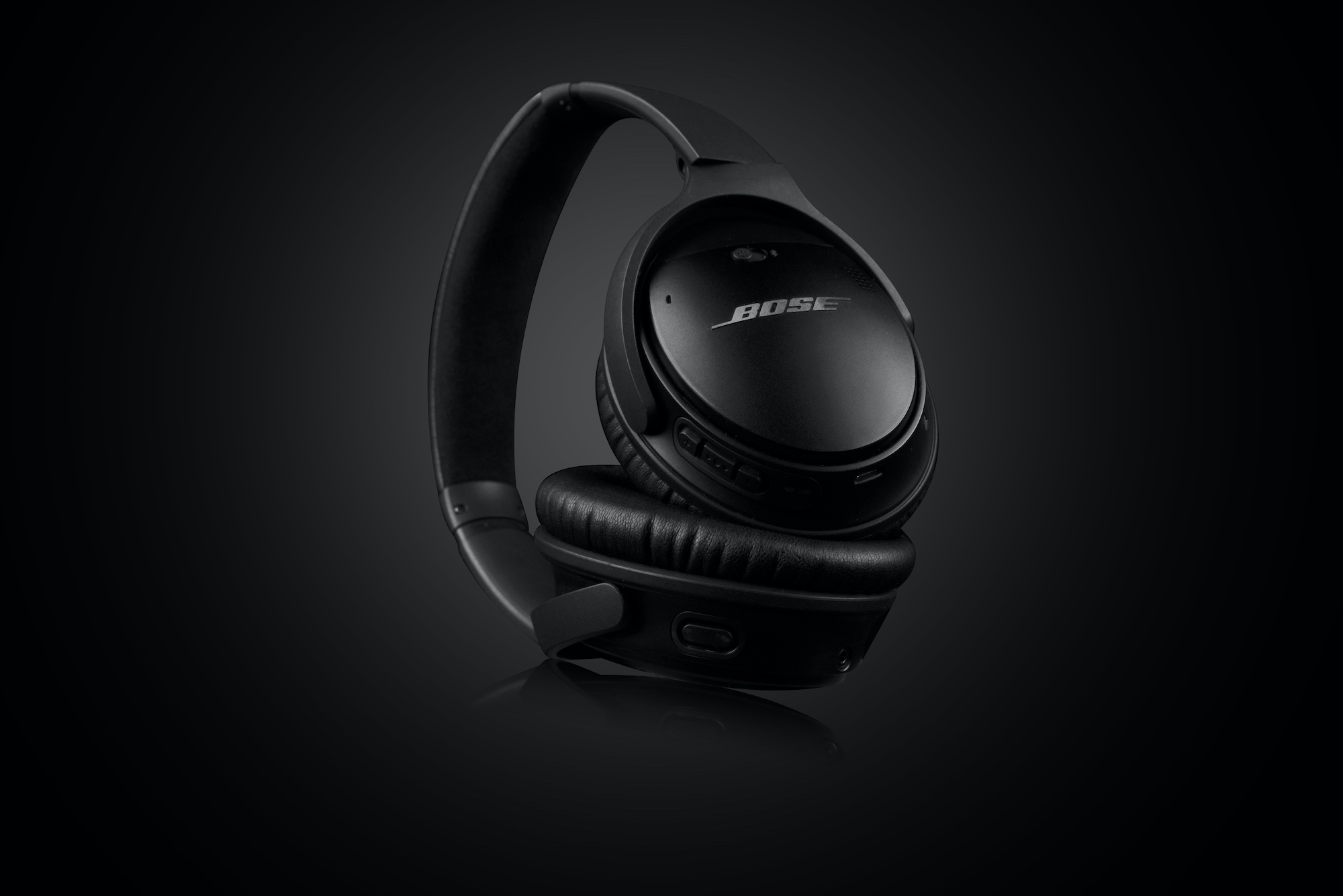 product photography services singapore studio photographer asia ecommerce Bose QuietComfort Wireless Headphones Black