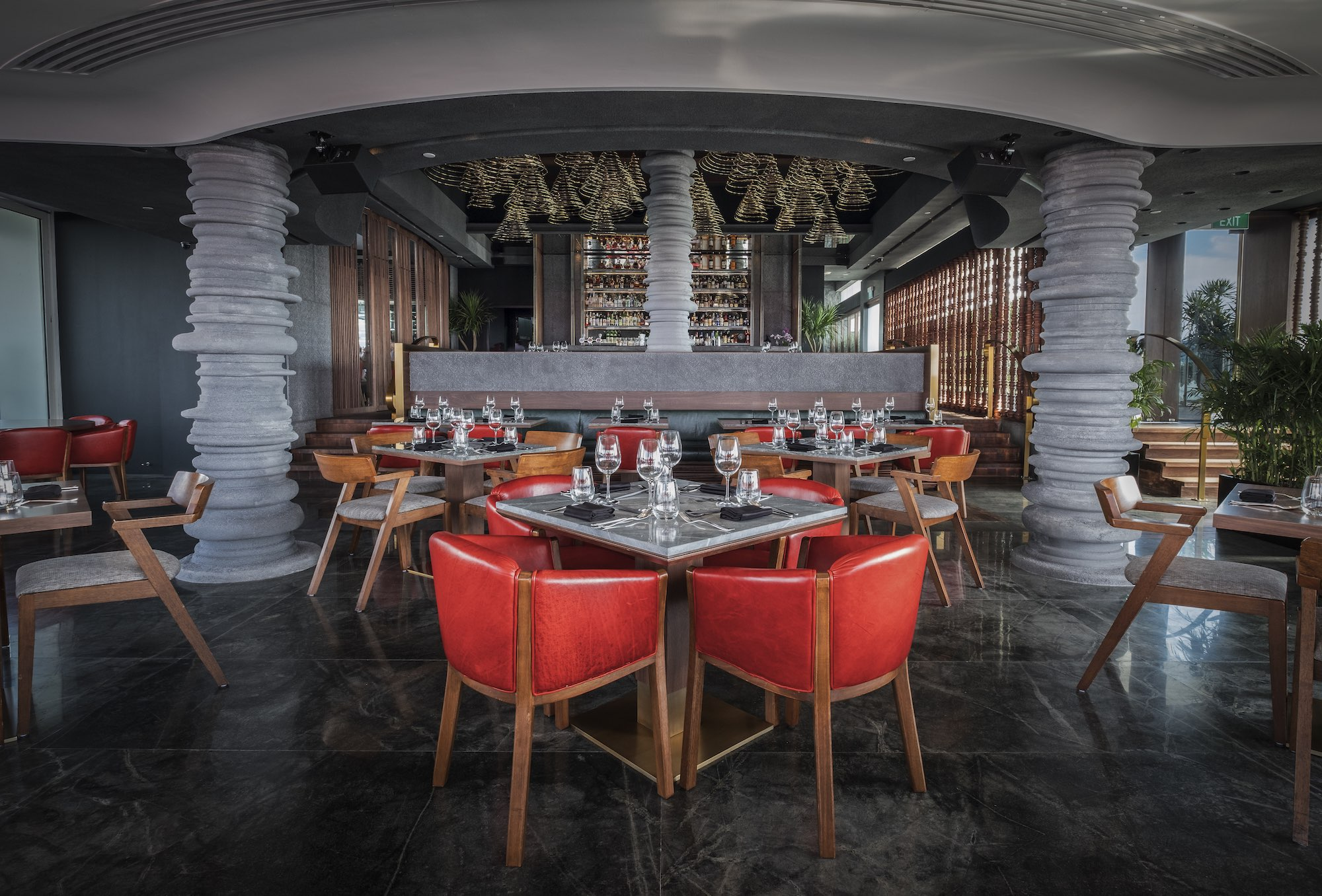CE LA VI Restaurant Rooftop Bar Interiors Photography Singapore COCO Creative Studio 29-1