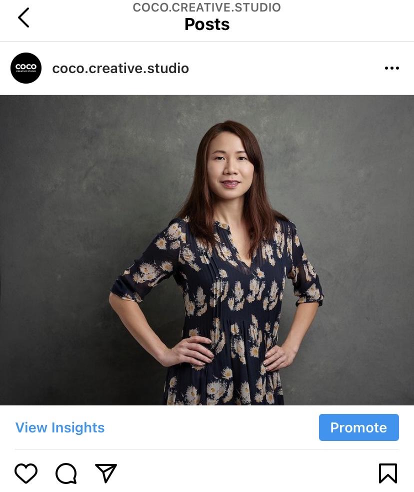 social media management headshot singapore coco creative studio