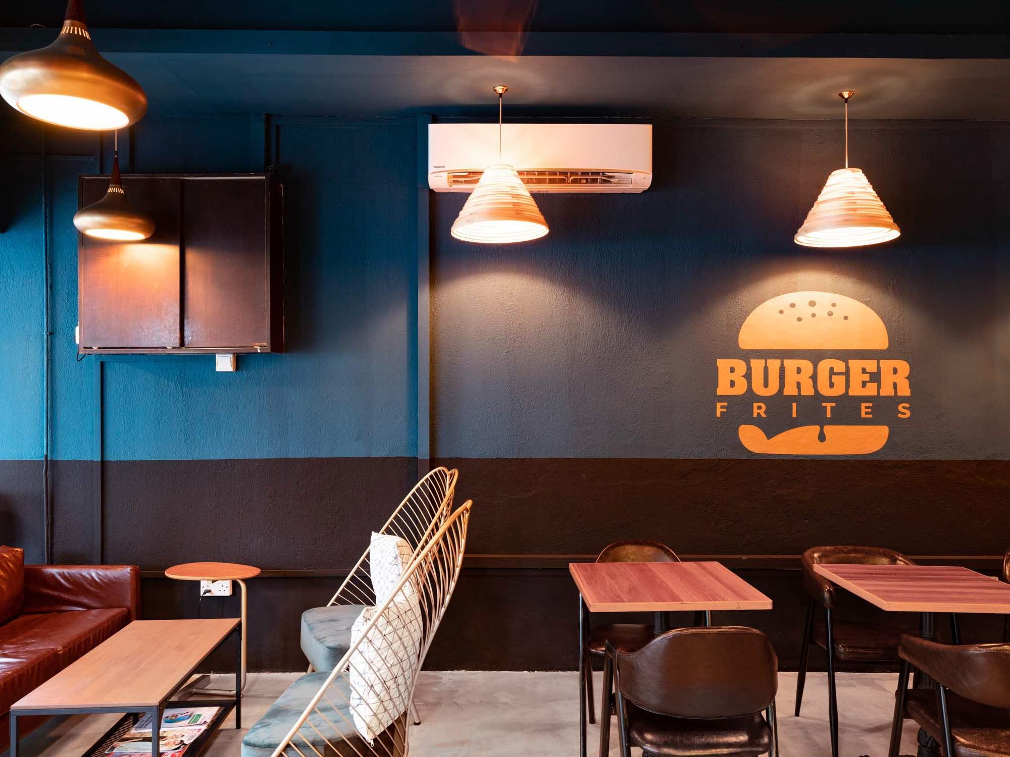 Burger Frites Interior Photography Restaurant Singapore COCO Creative Studio-1