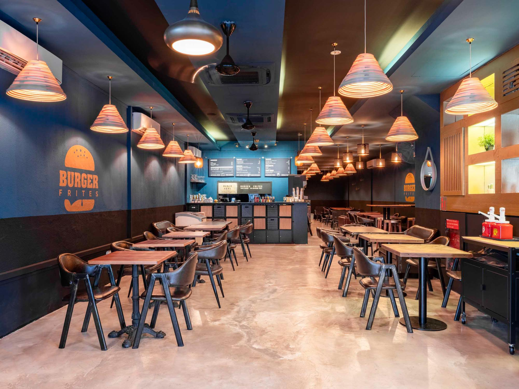 Burger Frites Interior Photography Restaurant Singapore COCO Creative Studio-2