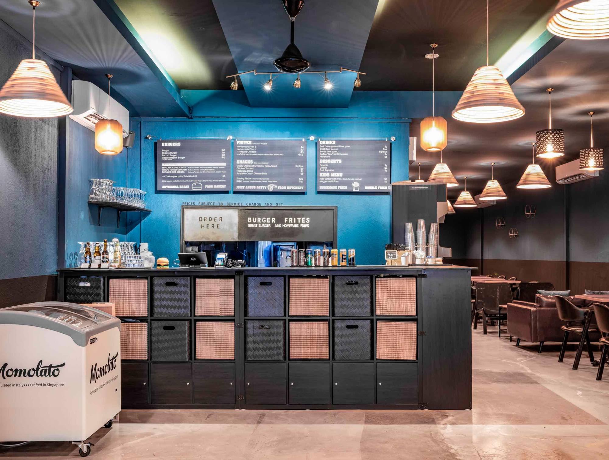 Burger Frites Interior Photography Restaurant Singapore COCO Creative Studio-3