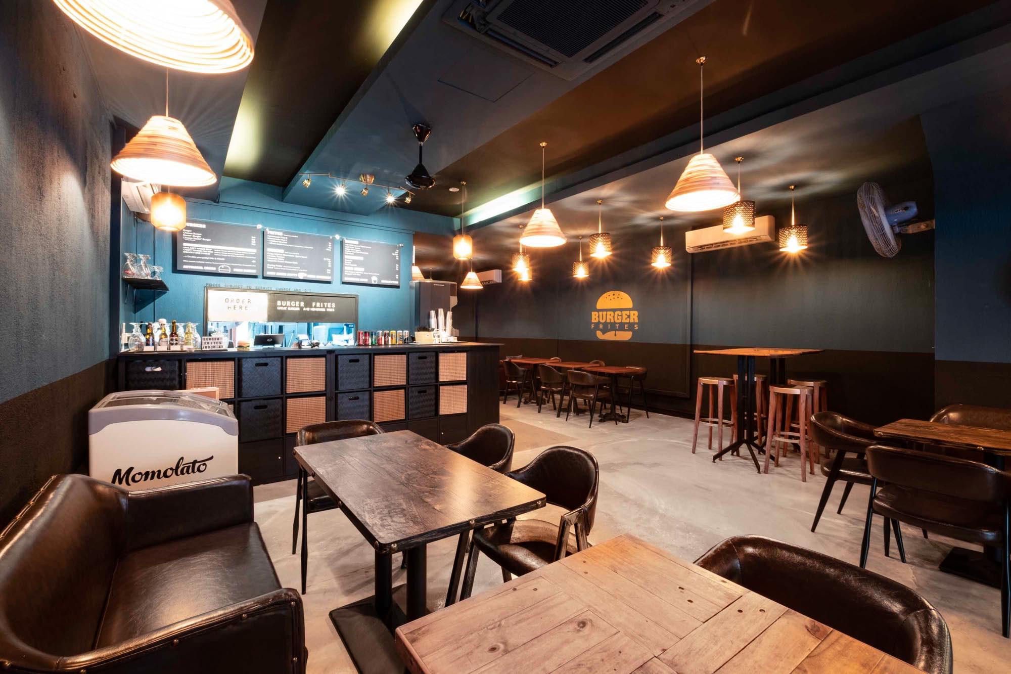 Burger Frites Interior Photography Restaurant Singapore COCO Creative Studio-4