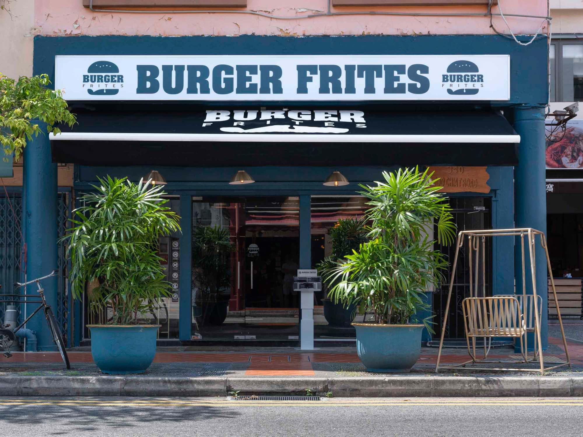 Burger Frites Interior Photography Restaurant Singapore COCO Creative Studio-5