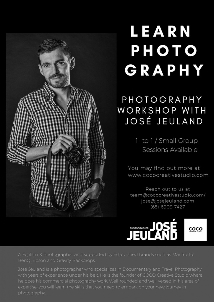 Jose Jeuland Photography Workshop Singapore Coco Creative Studio 2