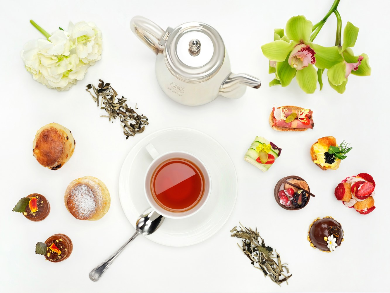 ST REGIS Afternoon Tea Food Photography Singapore COCO Creative Studio