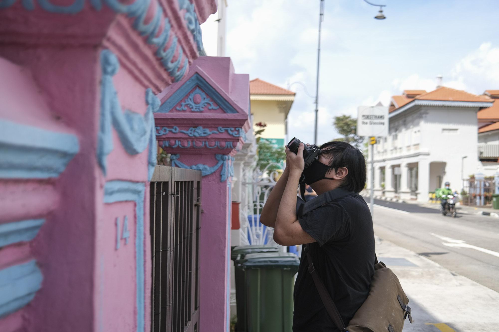 Photowalk with FUJIFILM Photography Workshop Shophouse Singapore COCO Creative Studio 3