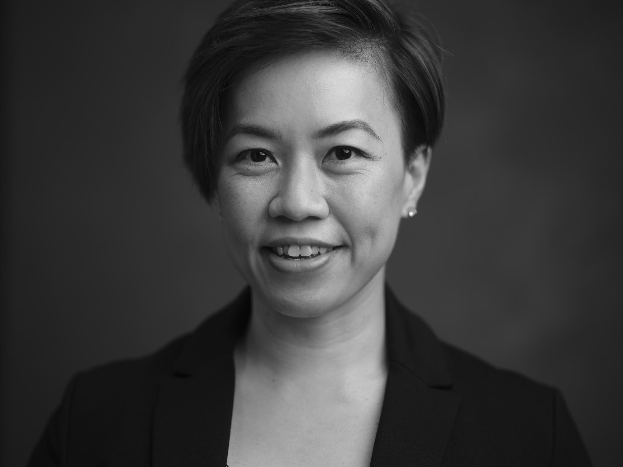 Black and White Portrait Photography Singapore Headshot Photographer COCO Creative Studio 2