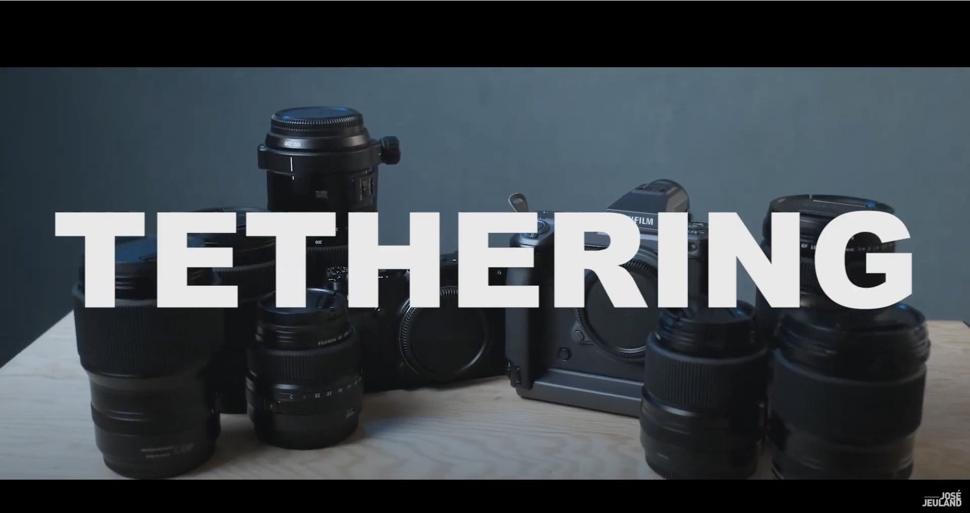 Tethered Shooting – Video