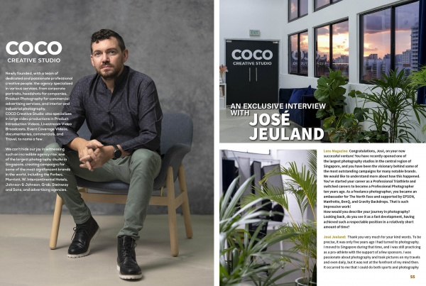 COCO Creative Studio Lens Magazine Photography Videography Services Singapore 2